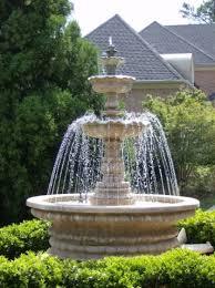 springbrunnen mit stein gestalten garten gestalten stein reimplica