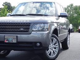 2011 used land rover range rover 4wd 4dr hse lux at alm newnan ga