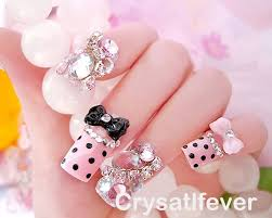 eye candy nails training nail art gallery pink leopard bows nail