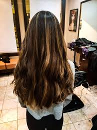 long brown hairstyles with parshall highlight the 25 best partial highlights ideas on pinterest partial