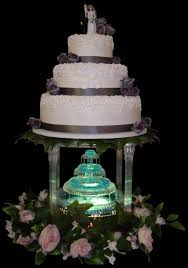 wedding cakes with fountains wedding cakes with fountains and lights idea in 2017 wedding