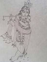 gallery sketch pencil of god krishna drawing art gallery