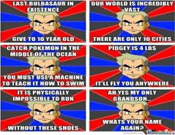 Professor Oak Meme - professor oak logic by deykin meme center
