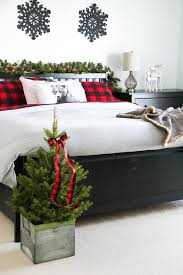 cozy and warm christmas bedroom a pretty life in the suburbs