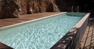 rivestimento in legno per piscine fuori terra piscine fuori terra rigide niente pi禮 buchi nell acqua