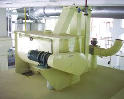 double shaft paddle mixer mixing feed mill machinery