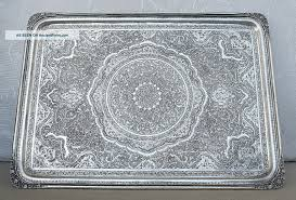 engraved tray vintage isfahan silver 84 tray 883gr engraved birds