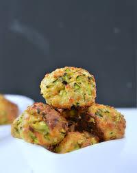 zucchini balls baked healthy recipe sweetashoney