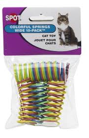 ethical wide colorful springs cat pet supplies