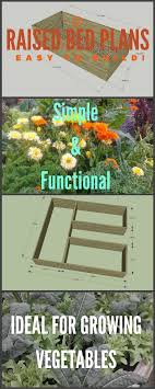 Ideal Vegetable Garden Layout Easy To Build Raised Bed Garden Plans