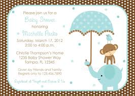 the most favorite collection of baby shower invitations boy at