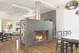 fireplace view double sided fireplaces home design great top in
