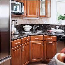Dishwasher Corner Cabinet Corner Kitchen Sink Designs Diamond - Corner kitchen sink design