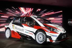 world auto toyota new toyota yaris wrc car blasts in for 2017 season auto express