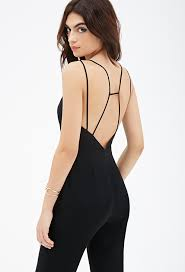 strappy jumpsuit forever 21 v cut strappy jumpsuit where to buy how to wear