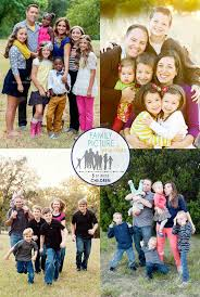 family picture pose ideas with 5 or more children capturing