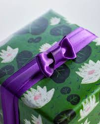 purple satin ribbon bright purple satin ribbon n 231 m impression originale