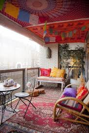 Apartment Patio Decor by