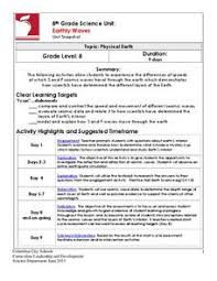 5e earth science lesson plans u0026 worksheets reviewed by teachers