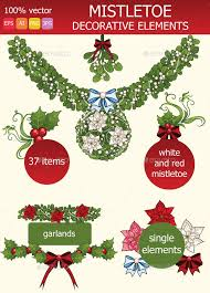 where to buy mistletoe mistletoe elements mistletoe design elements and font logo
