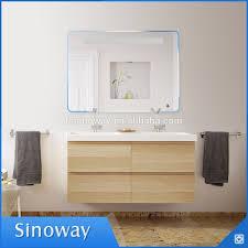 Backlit Bathroom Mirror by Bluetooth Led Backlit Bathroom Vanity Makeup Mirror With Led