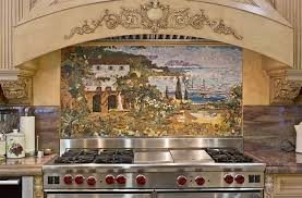 kitchen mural backsplash custom kitchen mural backsplash mosaics by vita mosaic inc