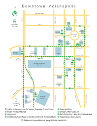 Bus Route Map Go Express Travel Downtown Indy Express Shuttle Service