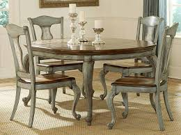 kitchen table with chalk paint painted dining table before and