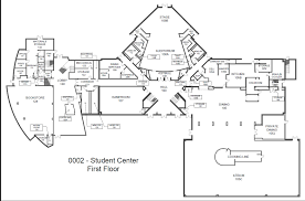 Floor Plan Of Auditorium by 0002 Student Center Gordon State College