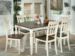 cottage dining room sets cottage dining set with the warm two tone look of the cottage white