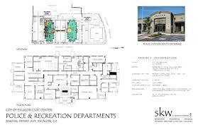 city of escalon police station u0026 city hall u2013 skw engineering