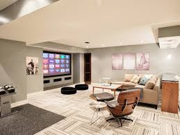 Basement Floor Finishing Ideas Basement Flooring Ideas Freshome