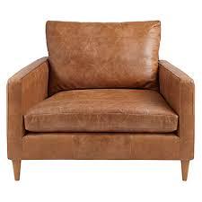 semi aniline leather sofa bailey semi aniline leather armchair luster cappuccino luster