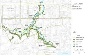 Map Of Virginia Cities Thalia Creek Greenway Project Vbgov Com City Of Virginia Beach