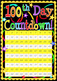 Counting From 100 To 200 Chart 100 Day Countdown Poster Included Is A 200 Day Countdown Poster
