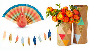thanksgiving decorations thanksgiving decorations you can make using a paper bag today