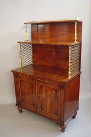 Small Red Bookcase Regency Mahogany Small Side Cabinet Dwarf Bookcase 1825 England