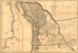 map of oregon country 1846 bungled borders in the pacific northwest part 1 worlds
