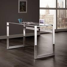 amazon com coaster furniture computer desk with glass top