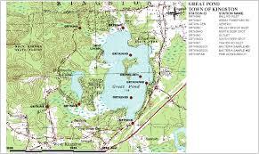 Great Lakes Crossing Map Sampling Station Maps Annual Reports Volunteer Lake Assessment