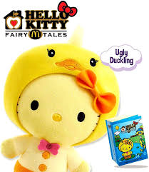 limited edition mcdonald u0027s hello kitty fairy tales ugly duckling plush