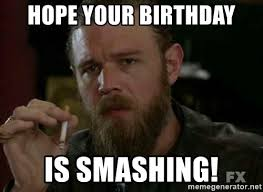 Jax Teller Memes - sons of anarchy birthday meme best birthday cake 2018