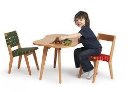 knoll jens risom childs amoeba shaped coffee table gr shop canada