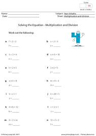 primaryleap co uk solving the equation multiplication and