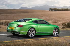 green bentley bentley continental gt and flying spur facelifts heading for geneva