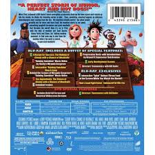 cloudy chance meatballs blu ray dvd digital copy