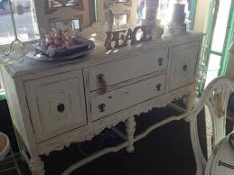 White Buffet Table by Antique Vintage 1930 U0027s Buffet Table White Chalk Paint Shabby Chic