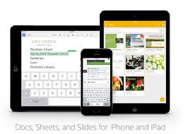 Google Spreadsheets App Google Releases Slides App For Iphone U0026 Ipad Updates To Docs And