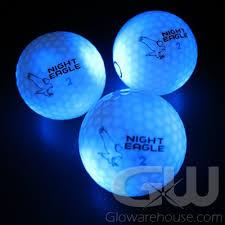 light up golf balls 12 lighted led golf ball mixed color pack glowarehouse com