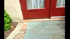 Exterior Door Sweeps by Wood Door Sweep Problems You Should Know About Home Repairs